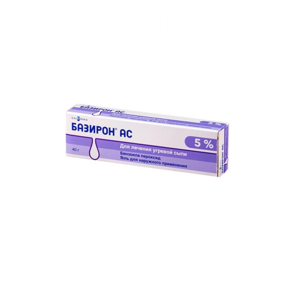 Базирон АС 5% 40 гр